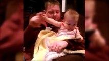 Pas touche papa... Bébé adorable