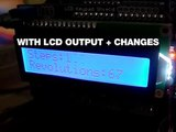 Arduino: Stepper Motors + LCD vs No-LCD's