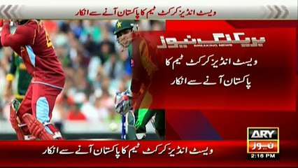 watch West Indies refuse to play ODI series in Pakistan
