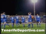 CD Tenerife 1 - Shalke 04 0 (ida semifinales UEFA 96/97-breve resumen)