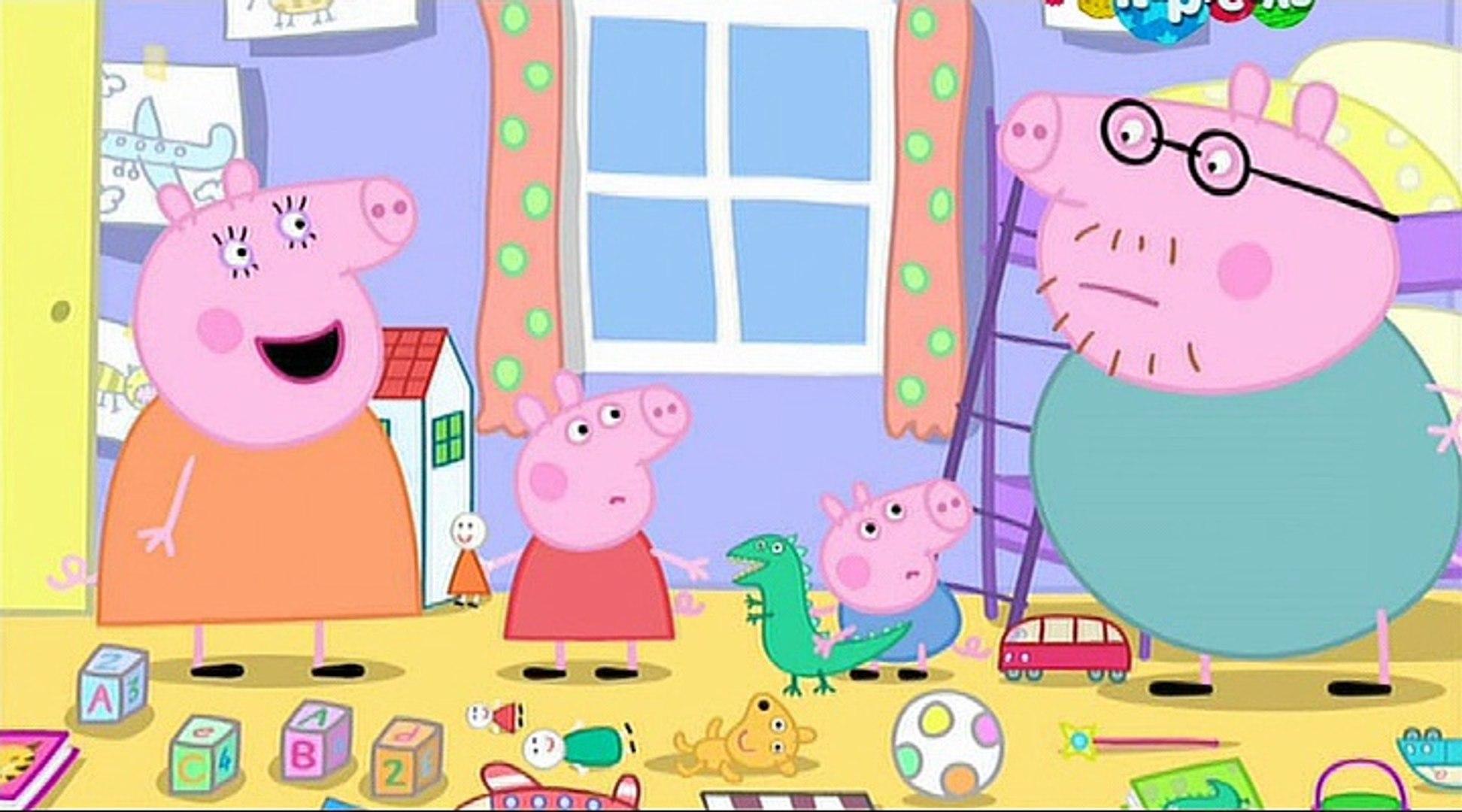 Свинка Пеппа- Уборка- Tidying Up -Все серии подряд Свинка Пеппа