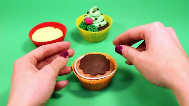 Play Doh Cupcakes Playdough Sweet Confections Cupcakes Muffins Ice Creams Part 5