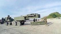 U.S. Marines Train with HIMARS Rockets
