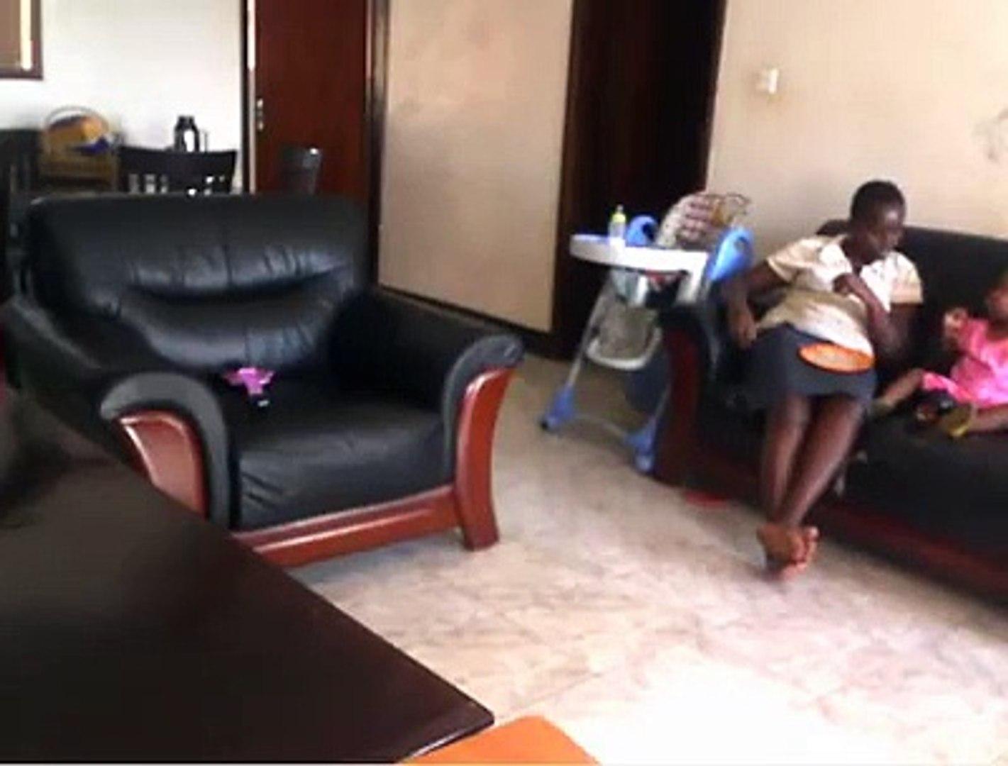 NANNY JOLLY TUMUHIIRWE VIOLENTLY BEATS 18M TODDLER IN UGANDA CAUGHT ON CAM