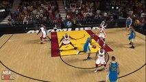 NBA 2K12 : My Player Wesley Miles Fake Shot  Wade & LeBron