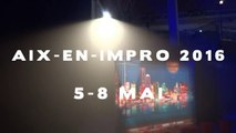 Aix-en-Impro 2016 - 9e Festival International d'impro Aix-en-Provence