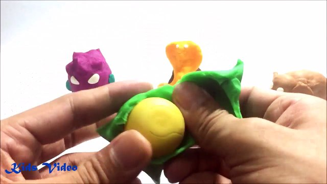 Play Doh Surprise Eggs Peppa Pig Mickey Mouse Clubhouse MINIONS - Video For Kids