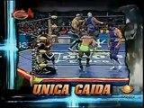 AAA-SinLimite 2009-05-25 Tlaxcala 05 Alex Koslov, Dr. Wagner Jr. & La Parka vs. La Legion Extranjera