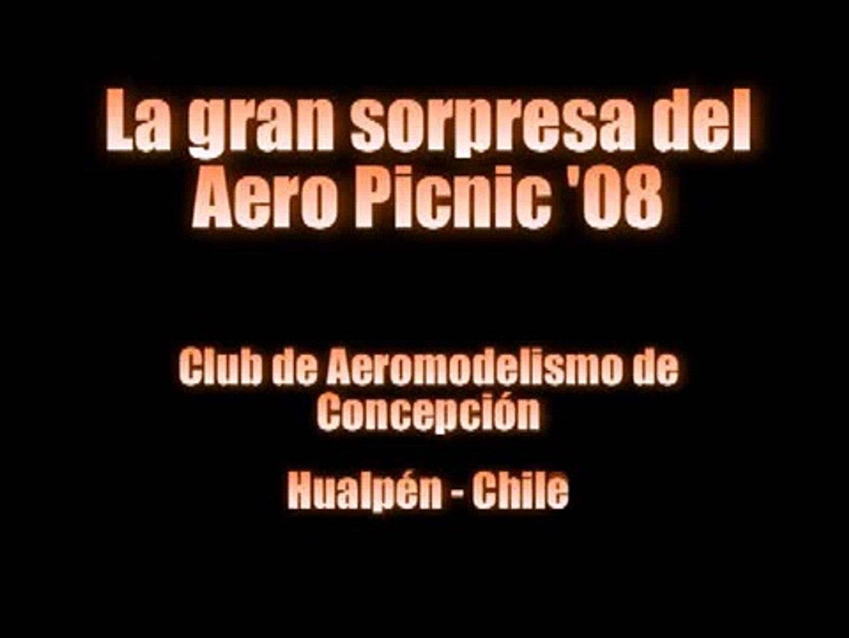 Sorprendente podadora en Aero Picnic '08 - Concepción, Chile