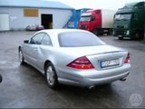 Mercedes-Benz CL500 in Lithuania WTF happened  ?