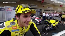 "Rins: ""An incredible race!"""