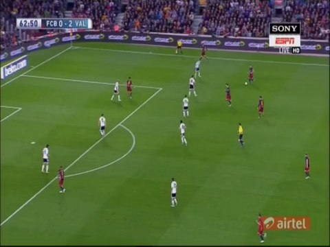 (1:2) Messi GOAL (1:2) - 17-4-2016