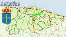 A-64 Autovía Oviedo - Villaviciosa - Tramo Completo , Túnel Fabares , Asturias / Highways in Spain