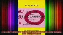Read  Zen and Zen Classics volume 1 From the Upanishads to Huineng Zen  Zen Classics  Full EBook