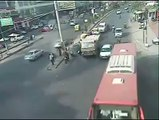 Traffic Accident Hit and Run by Bangalore Traffic Police YouTube