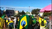 Veja cenas dos protestos na Grande Vitória pró e contra o impeachment de Dilma Rousseff
