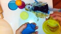 Play Doh Monster High Dresses Up Design ❤ Lagoona Blue Doll #1 [Oyun Hamuru Kıyafet Tasarımı]