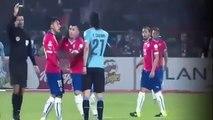 Gonzalo Jara provocate Edinson Cavani Ridiculous Red Card Chile 1 0 Uruguay Copa America 2