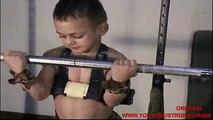 World strongest cute kid GIULIANO STROE