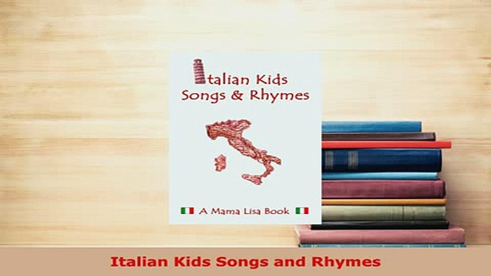 PDF Italian Kids Songs and Rhymes Read Full Ebook