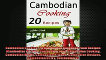 EBOOK ONLINE  Cambodian Cooking 20 Cambodian Cookbook Food Recipes Cambodian Cuisine Cambodian Food  BOOK ONLINE