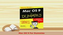 Download Mac OS 9 For Dummies PDF Online - video dailymotion