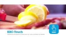 KBC Touch: Première connexion à KBC Touch