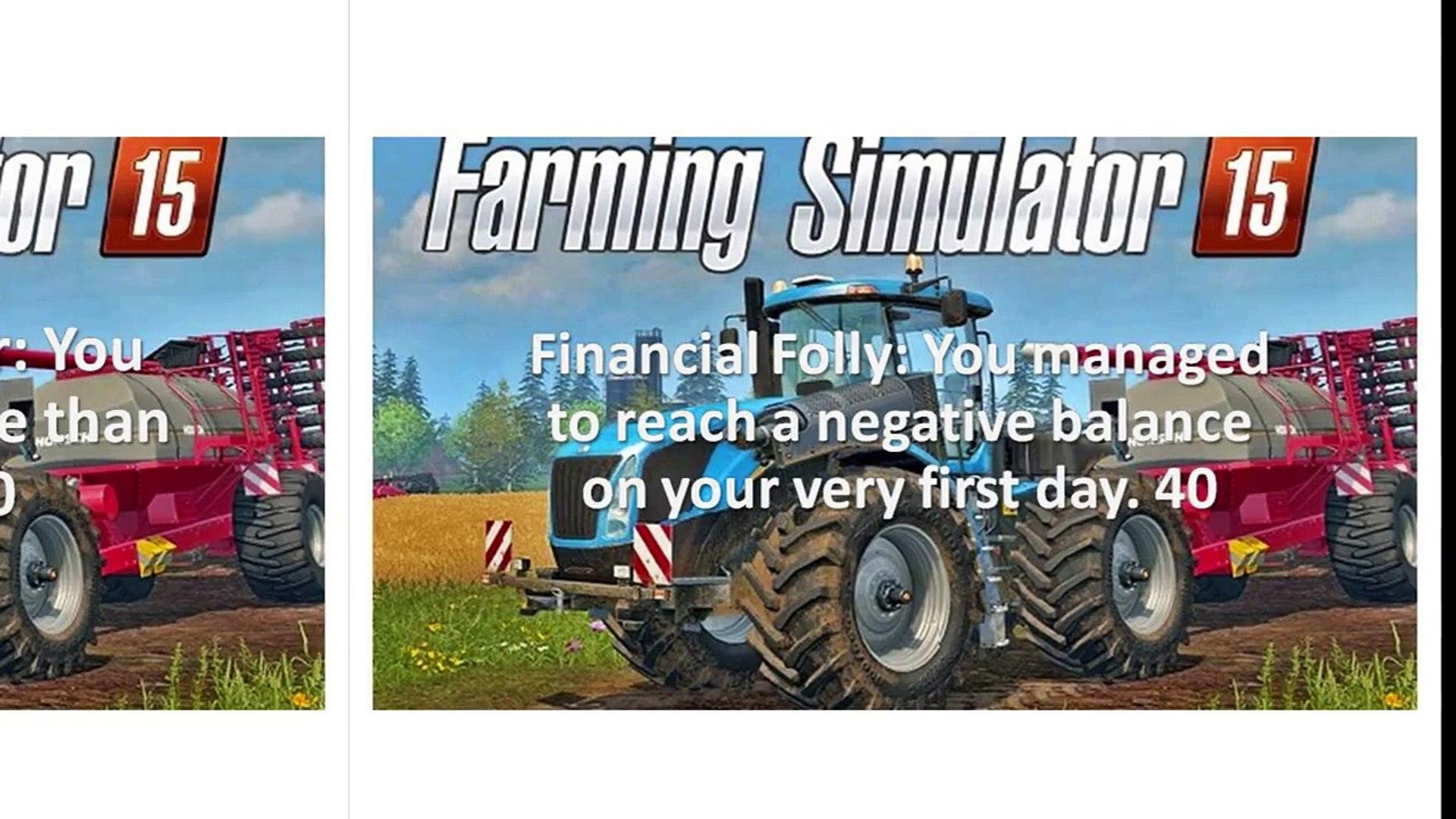 Farming Simulator 15 Cheats Codes For Xbox One