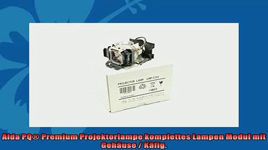 Lampe mit Geh/äuse Alda PQ-Premium Ersatzlampe f/ür NEC VT47 Projektoren Beamerlampe