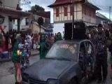 video carnaval de saint laurent du maroni en Guyane fr