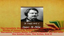 Download  The Complete Works of Honore de Balzac 98 Complete Works of Honore de Balzac Including  Read Online