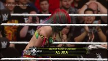 Asuka celebrates winning the NXT Women s Title from Bayley  NXT TakeOver  Dallas on WWE Network