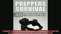 EBOOK ONLINE  Preppers Survival 48 Survival Tactics That Will Save Your Life Prepping and Survival  FREE BOOOK ONLINE