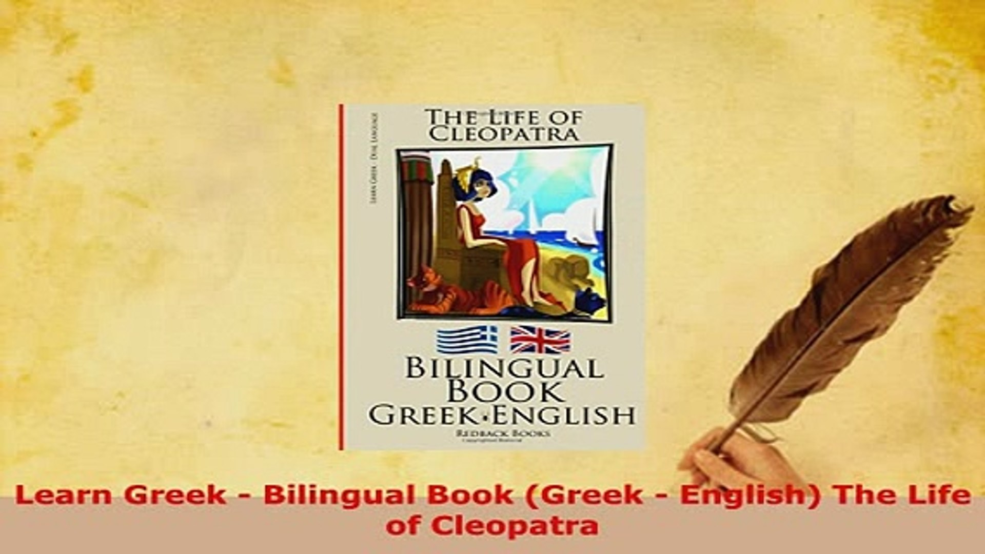 PDF  Learn Greek  Bilingual Book Greek  English The Life of Cleopatra Download Full Ebook