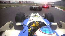 F1 Classic Onboard- 2006 Chinese Grand Prix, Button's Last-Lap Charge