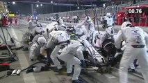 Felipe Massa réalise un arrêt au stand en 2,27 secondes lors du Grand Prix de Formule 1 de Bahreïn