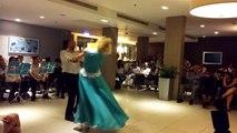 """Waltz"" dance. Speech in Eilat - 10.04.2016 at the International Festival  ""Star Night Eilat""."