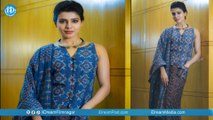 Samantha's Stylish Look In Three Different Outfits