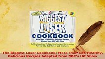 Download  The Biggest Loser CookbookMore Than 125 Healthy Delicious Recipes Adapted from NBCs Hit Download Full Ebook