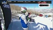 X games Aspen 2016 Kelly Sildaru Women's ski slopestyle WINNER