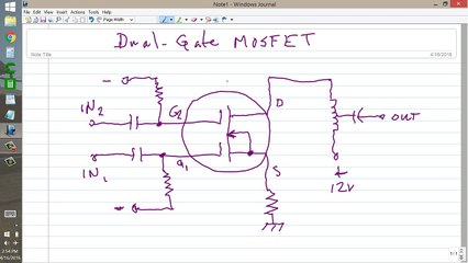 Dual-gate MOSFET Resource | Learn About, Share and Discuss Dual-gate