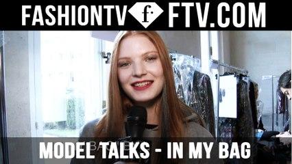 Model Talks F/W 16-17 In My Bag pt.2 | FTV.com