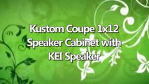 Kustom Coupe 1x12 Speaker Cabinet with KEI Speaker review