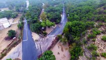 RAW Aerial/Drone Footage of Flooding in Helotes