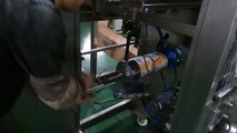 How to fit the packing films rolls to the vertical packing machine ?