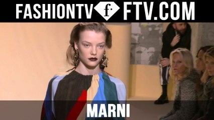 First Look Marni F/W 16-17 at Milan Fashion Week | FTV.com