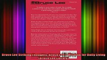 Read  Bruce Lee Striking Thoughts Bruce Lees Wisdom for Daily Living Bruce Lee Library  Full EBook