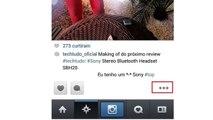 Como baixar fotos e videos do instagram no seu celular android