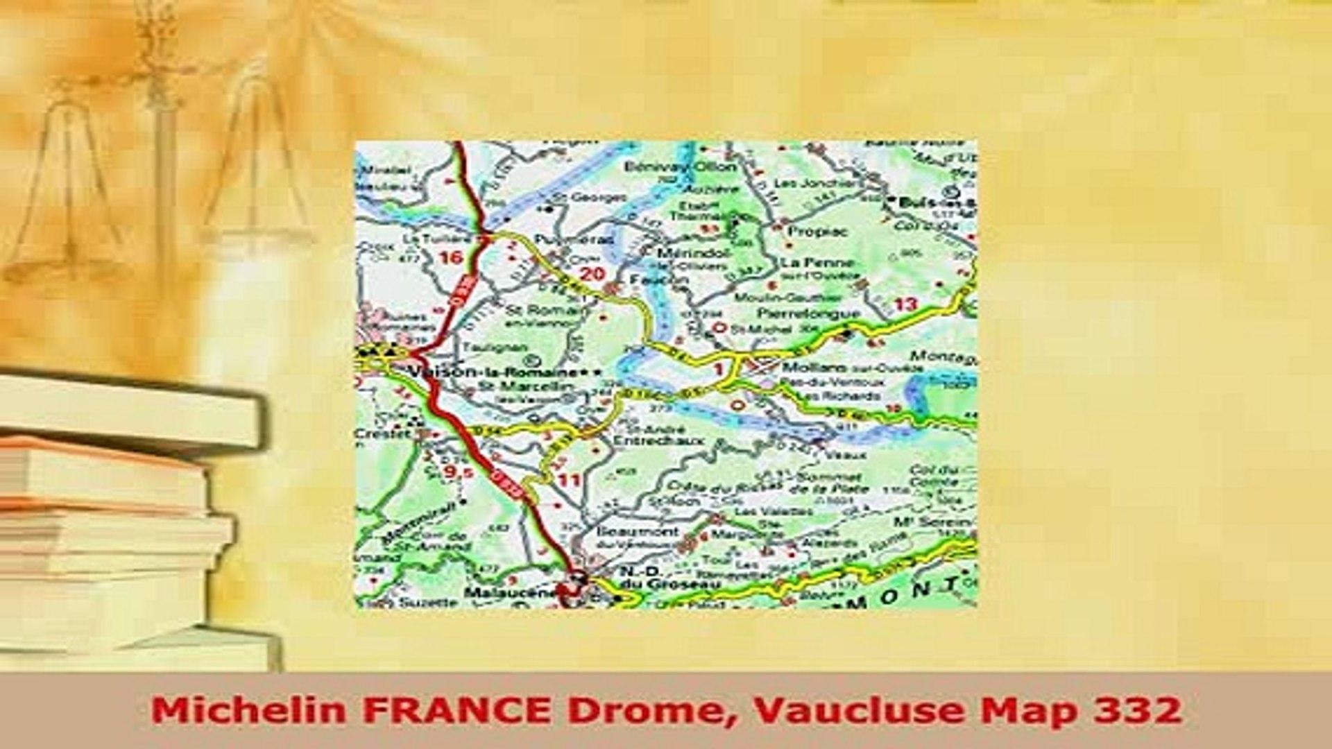 PDF Michelin FRANCE Drome Vaucluse Map 332 Download Online on provence map, digne-les-bains map, nain map, condell park map, rockdale map, mondragon map, leeds castle map, corse map, mascot map, beacon hill map, newcastle map, sydney central business district map, aquitaine map, loir et cher map, loire map, riverstone map, lot map, bonnieux map, luberon map, aubagne map,