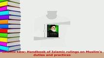 PDF  Islamic Law Handbook of Islamic rulings on Muslims duties and practices  Read Online